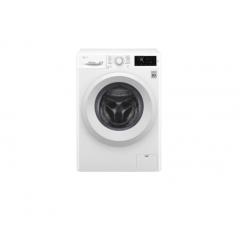 LG Front Load (Wash Only) Washine Machine 6kg, White, Inverter Direct Drive Motor, 6 Motion DD, Smart Diagnosis