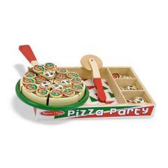 Melissa & Doug Pizza Party  Wooden Play