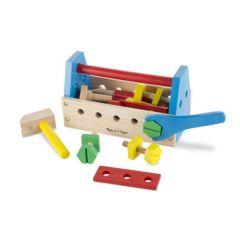 Melissa & Doug Take-Along Tool Kit Wooden Toy