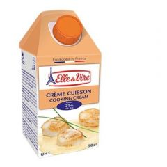 Elle&Vire Cooking Cream and Topping Cream 499g.