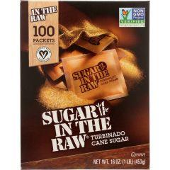 Sugar in the Raw Natural Cane Turbinado Sugar, 100 count, 453g