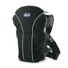 Chicco limited edition ultra soft baby carrier, black