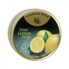 Cavendish And Harvey Sour Lemon Drops 200g