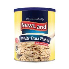 Newland White Oat Flakes 400g