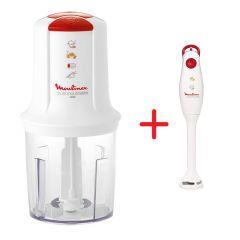 Moulinex AT717027 multi moulinette 400W Food Chopper + Moulinex Hand Blender DD100