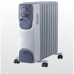 Home Electric  HK-72 Elctric Heater , 1500 W , Blue Grey