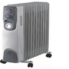 Home Electric  HK-82 Elctric Heater , 1000 - 1500 - 2500 W, Blue Grey