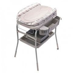Chicco Bath and changer Cuddle & Bubble Comfort - Silver