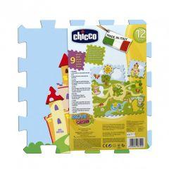 Chicco Toy Puzzle Play Mat Castle 9pcs