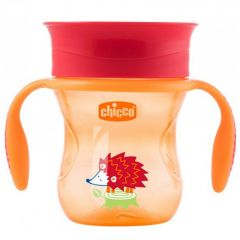 Chicco 360 Perfect Cup, Neutral, 200ml - Red