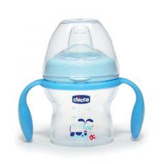 Chicco Natural Feeling Transition Bottle, 150ml - Blue