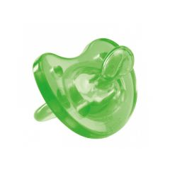 Chicco Physio Soft Soother, 6-12 month - green