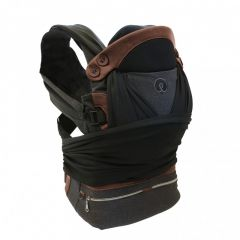 Chicco Boppy Adjust ComfyFit Carrier - Charcoal