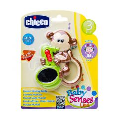 Chicco Game Musical Monkey - Brown