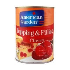 American Garden Topping And Filling Cherry 595g