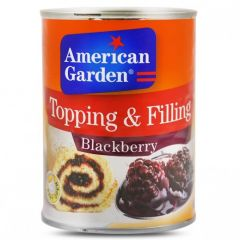 American Garden Topping And Filling Blackberry 595g