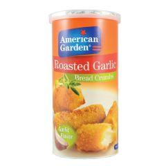 American Garden Bread Crumbs Roasted Garlic 425g