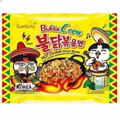 Samyang Buldak Corn Hot Chicken Flavor Ramen 130g