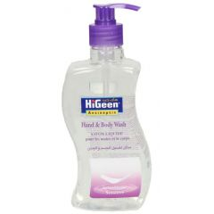 Higeen Hand And Body Wash Savon Liquide Sensitive 500ml