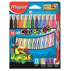 Maped Color Peps Jungle 12 Pcs