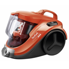 Tefal TETW3724HA Bagless Compact Power Cyclonic Vacuum, 2000W,Orange/Black