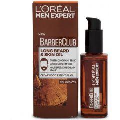 Loreal Barber Club Long Beard And Skin Oil 30ml