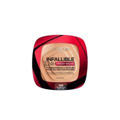 Loreal - Powder makeup Infaillible Fresh Wear - 140: Golden Beige