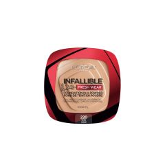 Loreal - Powder makeup Infaillible Fresh Wear - 220 , Sand
