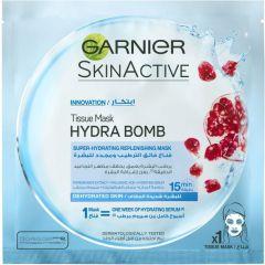 Garnier Skin Active Hdra Bomb Tissue Mask Pomegranate