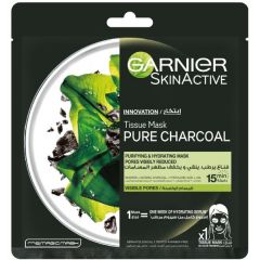 Garnier Pure Charcoal And Alage Hydrating Face Sheet Mask