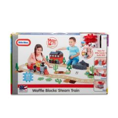 Waffle Blocks™ Steam Train