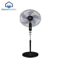 Home Electric Stand Fan 65W , 3 speed wind choice