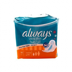 Always Ultra Thin Normal, 10 Pads