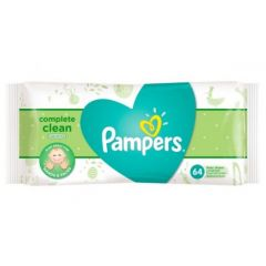 Pampers Complete Clean Baby Wipes 64Pcs