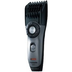 Panasonic ER217S751 Beard and Body Hair Trimmer, Washable, Rechargable, 14 Cutting Length Adjustments (1-20mm), Black