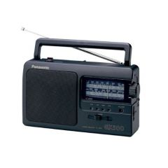 Panasonic RF-3500E9-K Portable Radio, Black