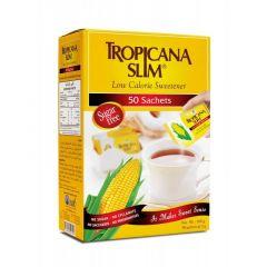 Tropicana Slim Low Calorie Sweetener 50 Sachets 100g