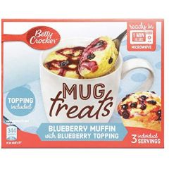 Betty Crocker Blueberry Muffin Cup 270gm