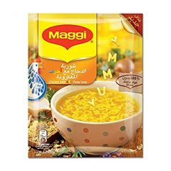Maggi Chicken With ABC Pasta Soup 66g