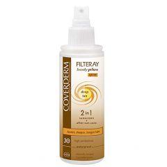 Coverderm Filtray Body Plus Deep Tan Spray SPF 30 100ml