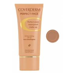 Coverderm Perfect Face Waterproof Make Up No.7