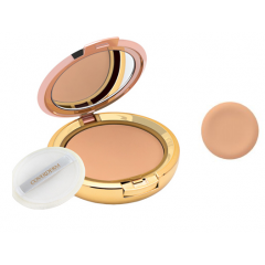 Coverderm Compact Waterproof Face Powder No.4