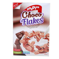 Poppins Choco Flakes Cereals  600g