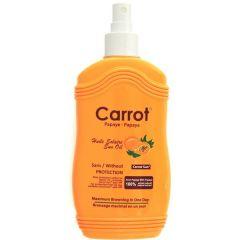 Carrot Sun Oil Spary With Papaya Maximum Browning  200ml