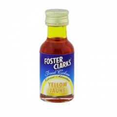 Foster Clarks Food Colour Yellow Jaune 28ml