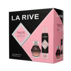 La Rive Taste of Kiss Gift Set For Women Eau de Parfum 100ml + Deodorant 150ml