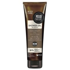 Hello Nature Shower Gel with Coconut Oil 250ml