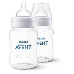 Philips Avent Anti Colic Pack Of 2 Feeding Bottle 260 Ml 1 M Plus 260 Ml Feeding Bottle