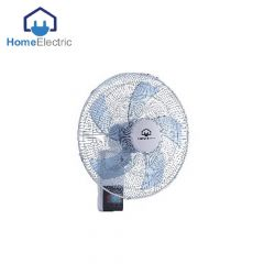 Home Electric Wall Fan with Remote 65W , 3 speeds wind choice