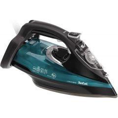 Tefal Steam Boost Iron Ultimate Anti Calc/Anti Scale 2600W/210 grams, FV9745M0, Black/Green